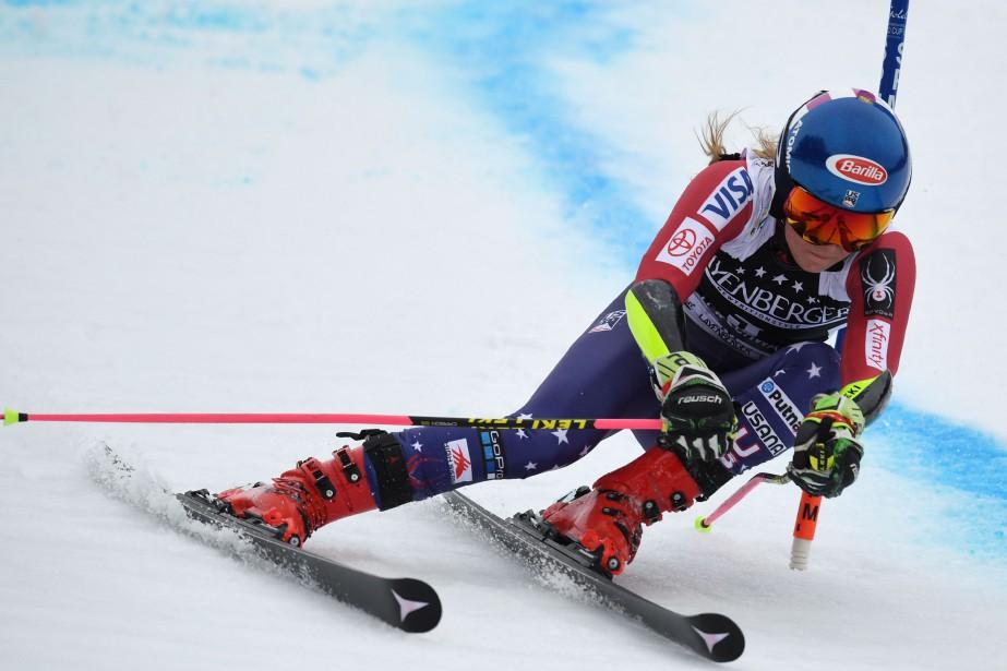 Mikaela Shiffrin... (Photo Christof Stache, AFP)