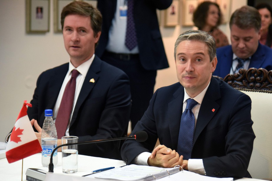 Le ministre canadien du Commerce international, François-Philippe Champagne... (Photo Norberto Duarte, Agence France-Presse)
