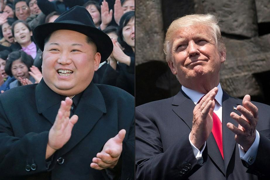 Donald Trump a accepté de rencontrer Kim Jong-un... (PHOTOS ARCHIVES AGENCE FRANCE-PRESSE)