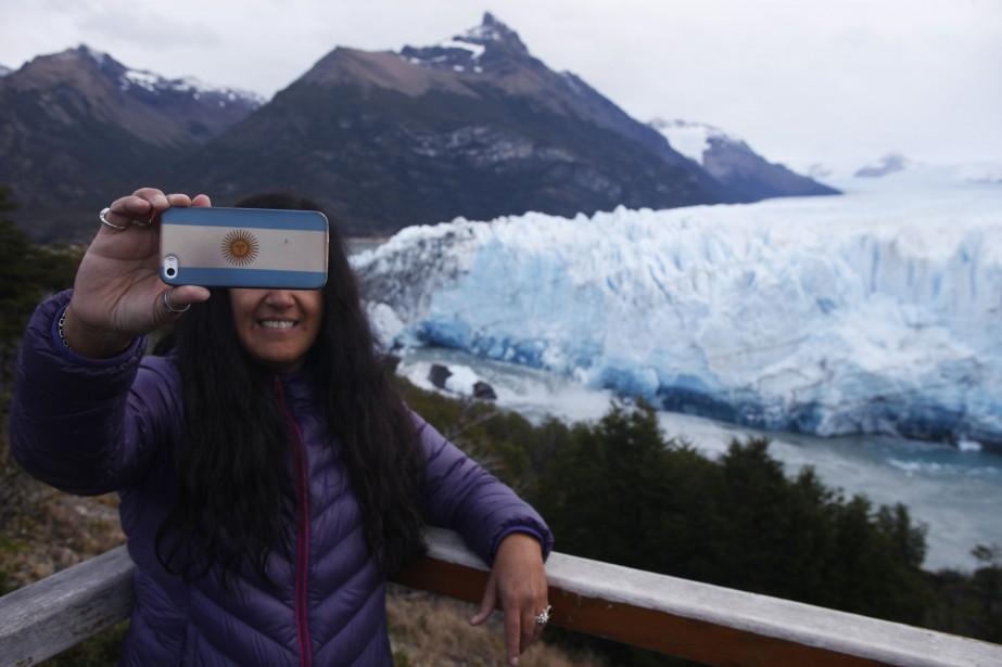 L'effondrement du glacier Perito Moreno, inscrit au patrimoine... (AFP)