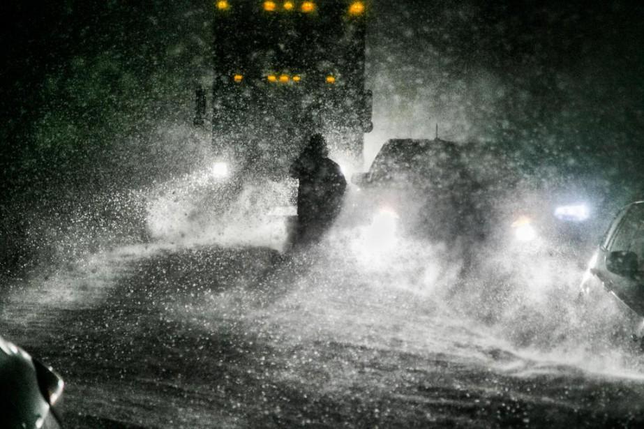 Piégés par la tempêtede Martin Tremblay... (Photo Martin Tremblay, La Presse)
