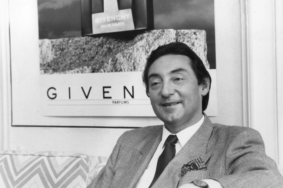 Hubert de Givenchya marqué pendant 40ans le monde... (PHOTO RENÉ PICARD, ARCHIVES LA PRESSE)
