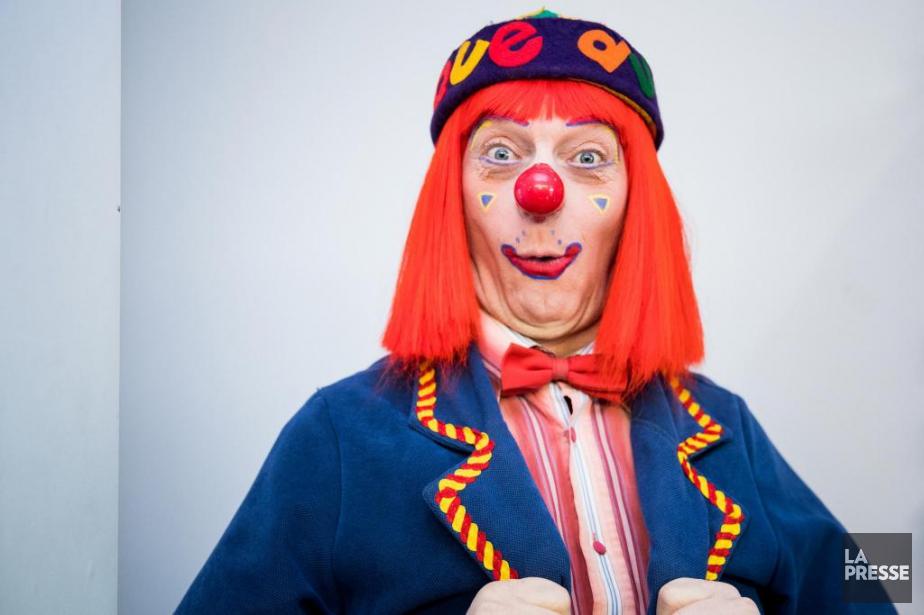 Giboulée connaît bien les fêtes d'enfants. Le clown... (PHOTO MARCO CAMPANOZZI, LA PRESSE)