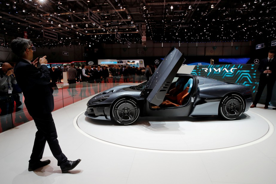 Rimac C_Two. (photo REUTERS)