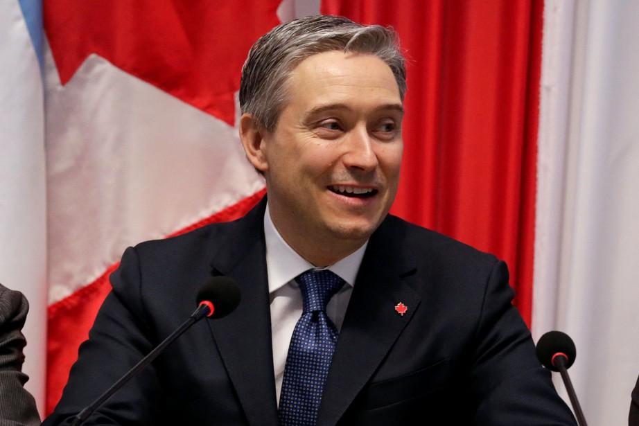 Le ministre du Commerce international, François-Philippe Champagne, a... (REUTERS)