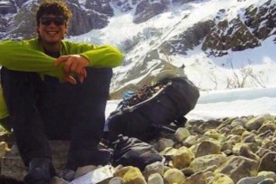 La famille de l'alpiniste Marc-André Leclerc est originaire... (PHOTO TIRÉE DU SITE GOFUNDME)