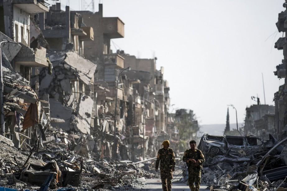 Les forces du président syrien Bachar al-Assad avancent... (AFP)