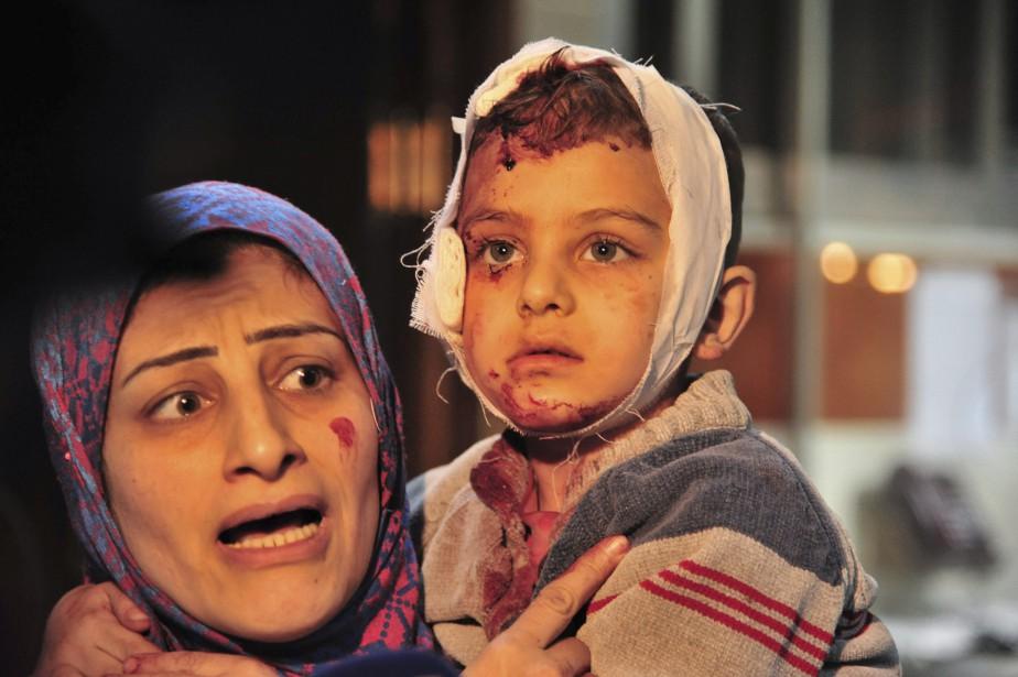 Armes chimiques, massacres de civils, accusations de crimes... (AP)