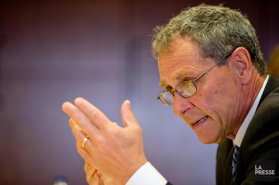 Michel Cormier a annoncé hier qu'il prenait sa... (Photo David Boily, Archives La Presse)
