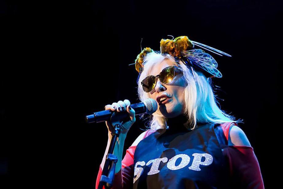 Debbie Harry, chanteuse du groupe Blondie... (PhotoGrant Pollard, archives Invision/Associated Press)