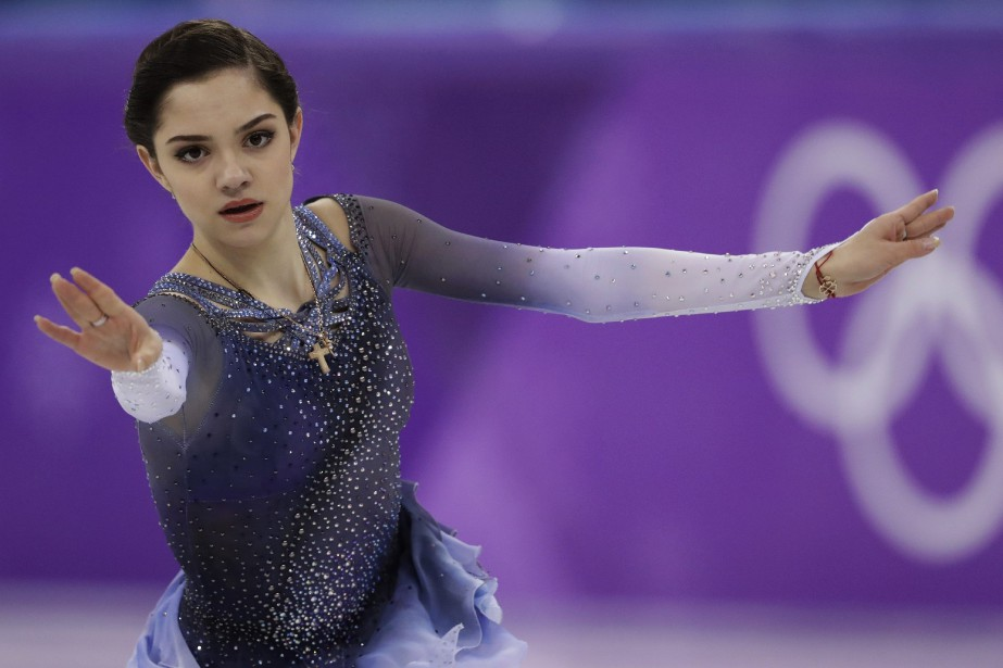 La patineuse russe Evgenia Medvedeva a remporté la... (Photo Bernat Armangue, AP)