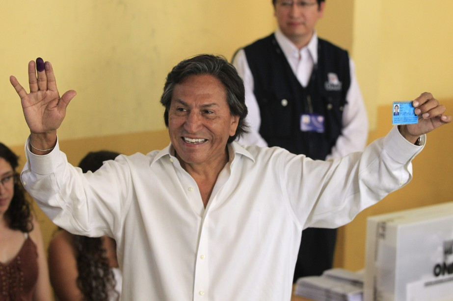 Agé de 71 ans, l'ancien président Alejandro Toledo... (Photo Martin Mejia, archives Associated Press)