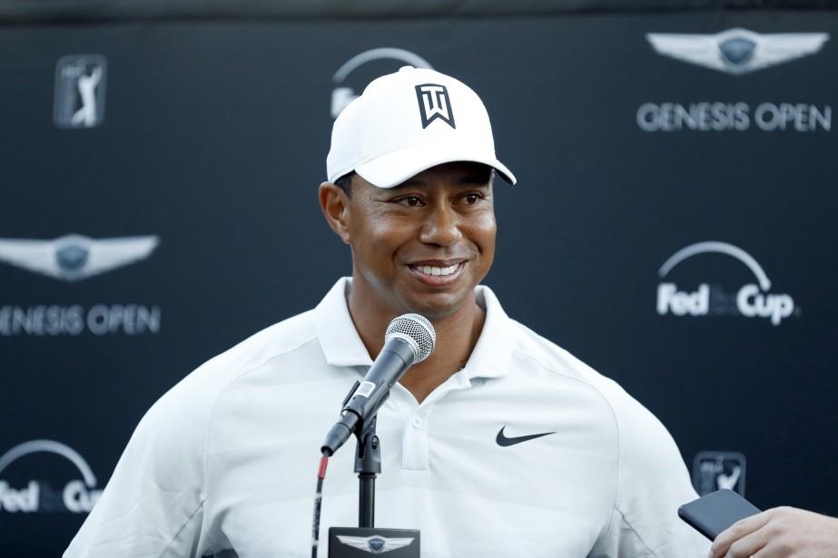 Tiger Woods... (Photo Ryan Kang, AP)