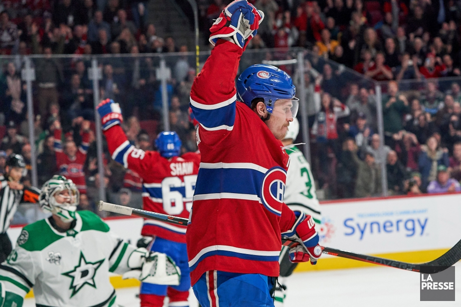 Brendan Gallagher a bonifié son record personnel en... (Photo André Pichette, La Presse)