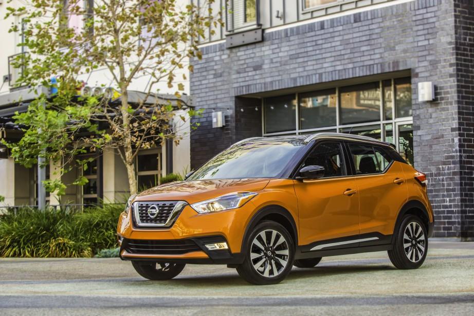 Nouveautés printemps-été 2018 - Le Nissan Kicks, qui... (Photos Nissan)