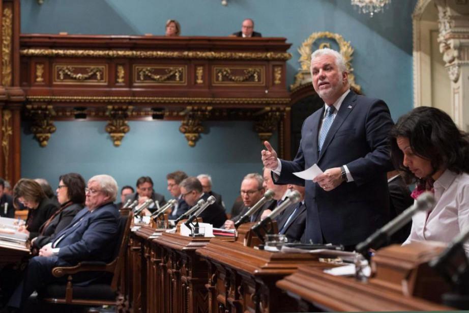 Mardi, La Presse a appris que le gouvernement... (PHOTO PC)