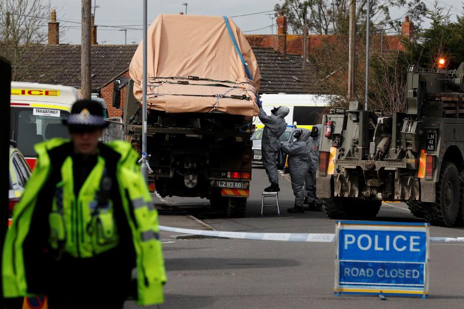 Après plusieurs jours d'accusations réciproques, Londres est passé... (AFP)