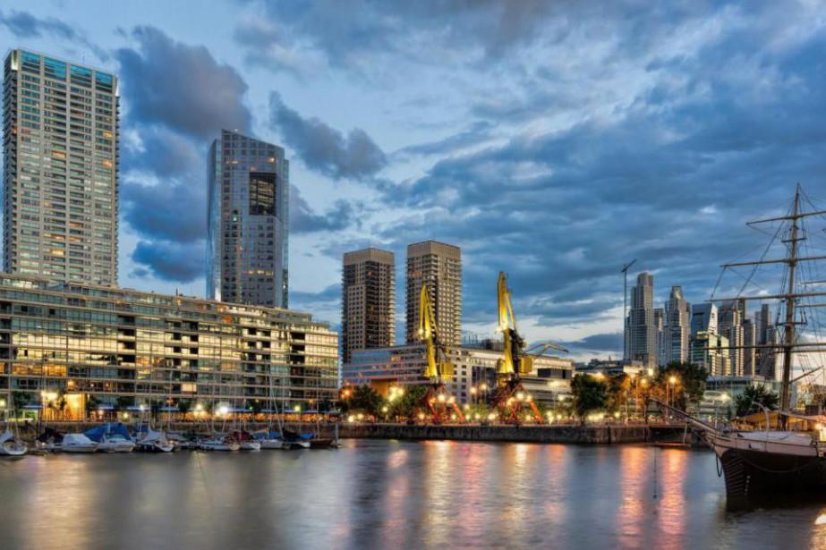 Le quartier de Puerto Madero, à Buenos Aires,... (Photo Thinkstock)
