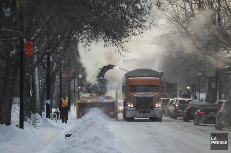 Selon les données d'Environnement Canada à la station... (PHOTO IVANOH DEMERS, ARCHIVES LA PRESSE)