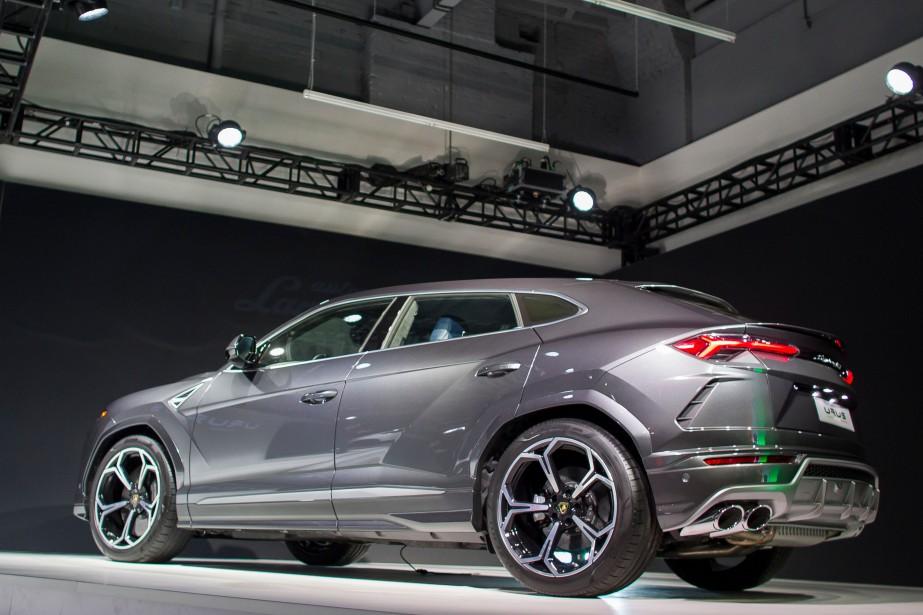 Lamborghini Urus (AFP)
