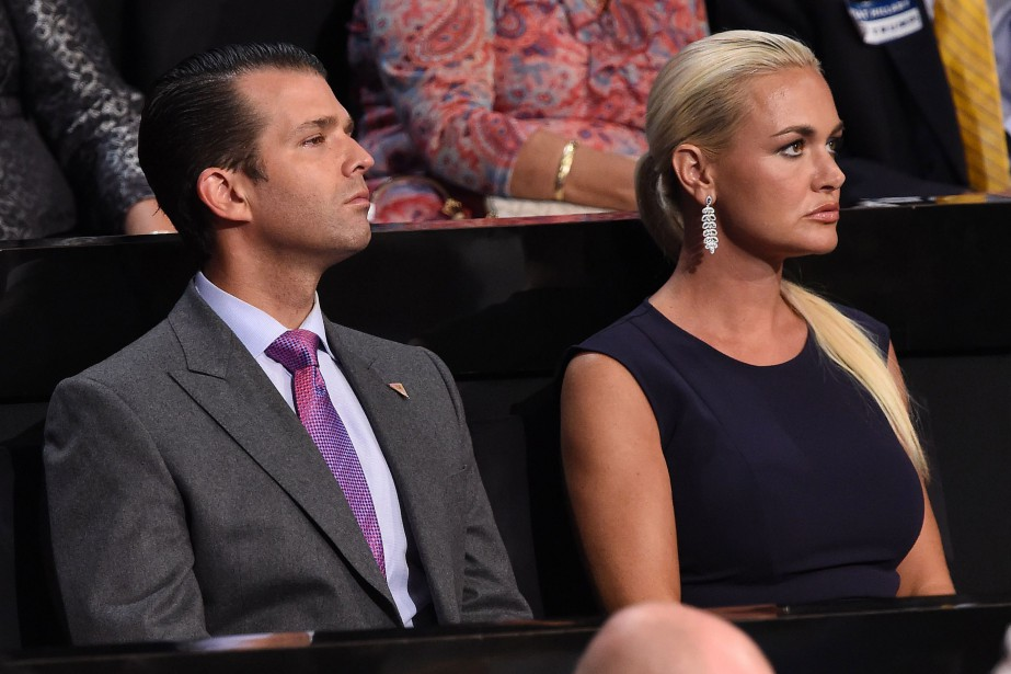 Donald Trump Jr. et Vanessa Trump.... (ARCHIVES AFP)