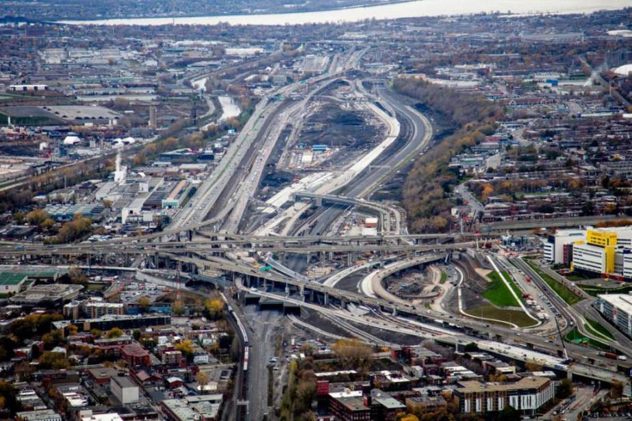 Les automobilistes ne pourront pas emprunter l'échangeur Turcot... (PHOTO YVES TREMBLAY, PHOTOHELICO.COM)
