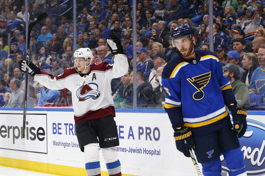 Nathan MacKinnon... (Photo Billy Hurst, AP)