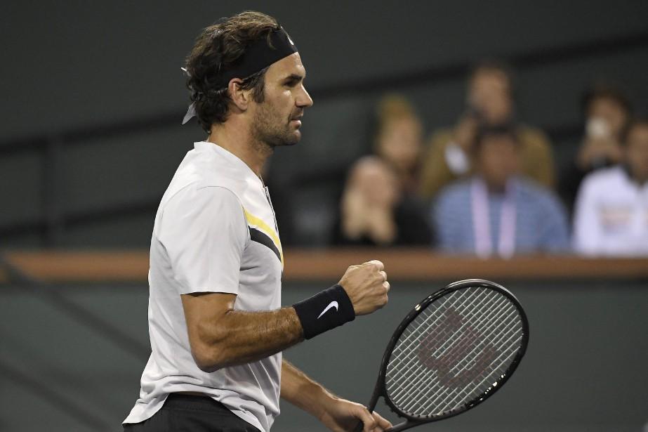 Roger Federermontre un dossier de 16-0 cette saison.... (Photo Mark J. Terrill, AP)