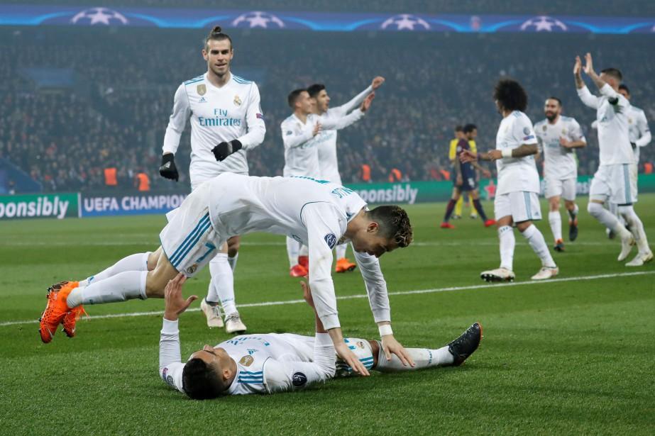 Le Real Madrid a impressionné en huitièmes de... (Photo Gonzalo Fuentes, Reuters)