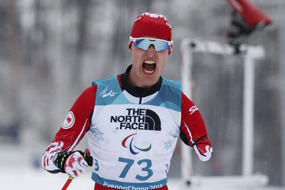 Le biathlonien canadien Mark Arendz a remporté l'or au... (Photo Simon Bruty, AP)