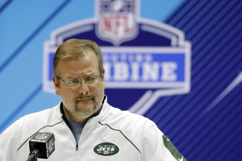 Le directeur général des Jets de New York,... (Photo Darron Cummings, AP)