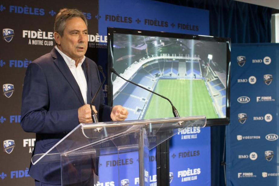 Richard Legendre,vice-président de l'Impact... (Photo Olivier Jean, Archives La Presse)