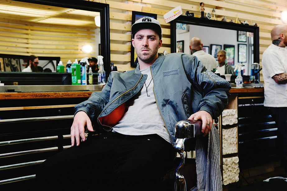 Le rappeur Classifieda indiqué qu'il a composé sa... (PHOTO ARCHIVES LA PRESSE CANADIENNE)
