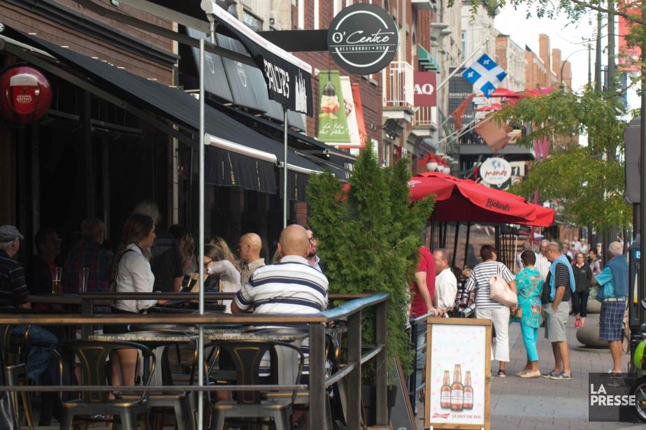On trouve une multitude de restaurants dans le... (Photo sylvain mayer, archives la presse)