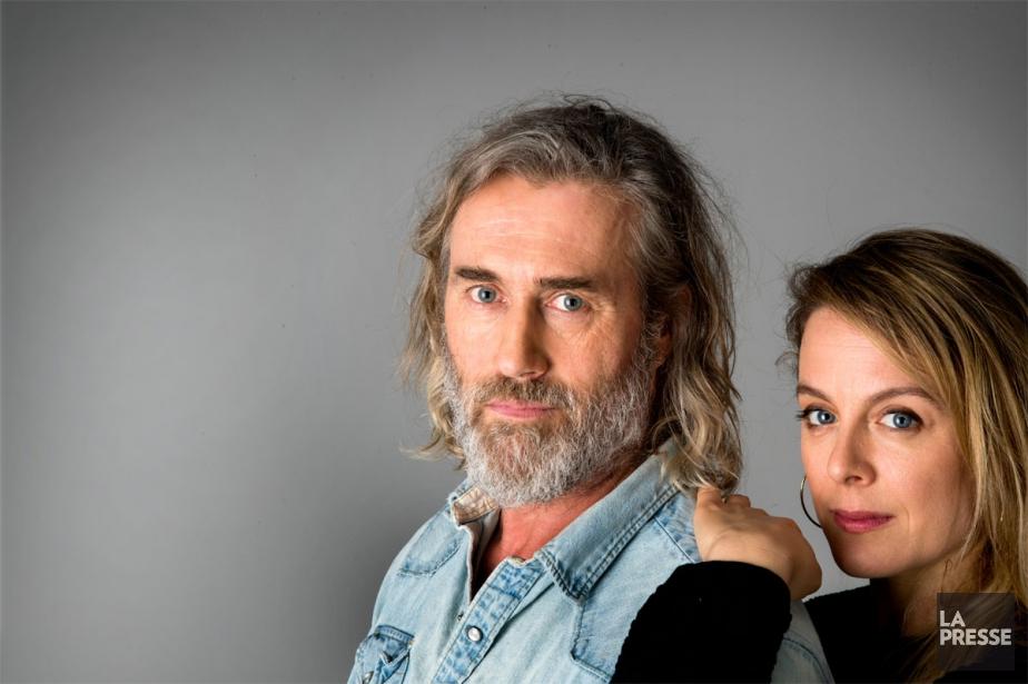 Roy Dupuis et Julie Le Breton... (Photo Marco Campanozzi, La Presse)