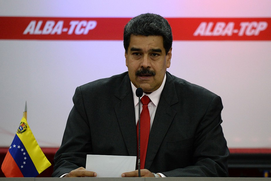 Le président vénézuélien Nicolas Madurode a participé au... (PHOTO FEDERICO PARRA, ARCHIVES AGENCE FRANCE-PRESSE)