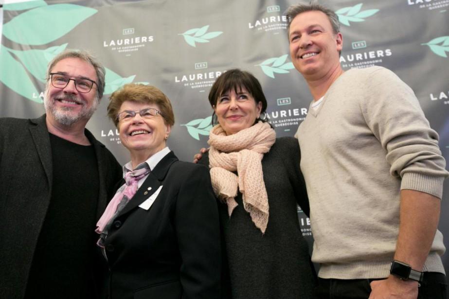 Quelques finalistes pour le Laurier du public étaient... (PHOTO FRANÇOIS ROY, LA PRESSE)