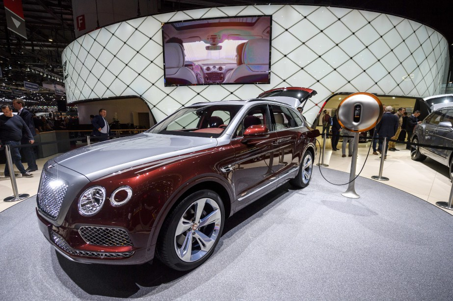 Bentley Motors Bentayga hybride. | 19 mars 2018