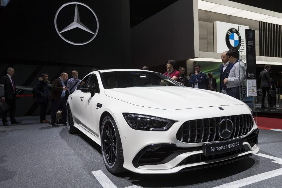 Mercedes AMG GT 53. | 19 mars 2018