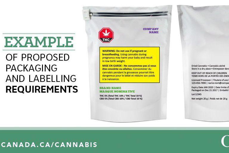 Santé Canada a présenté hier les normes d'emballage... (Photo La Presse canadienne)