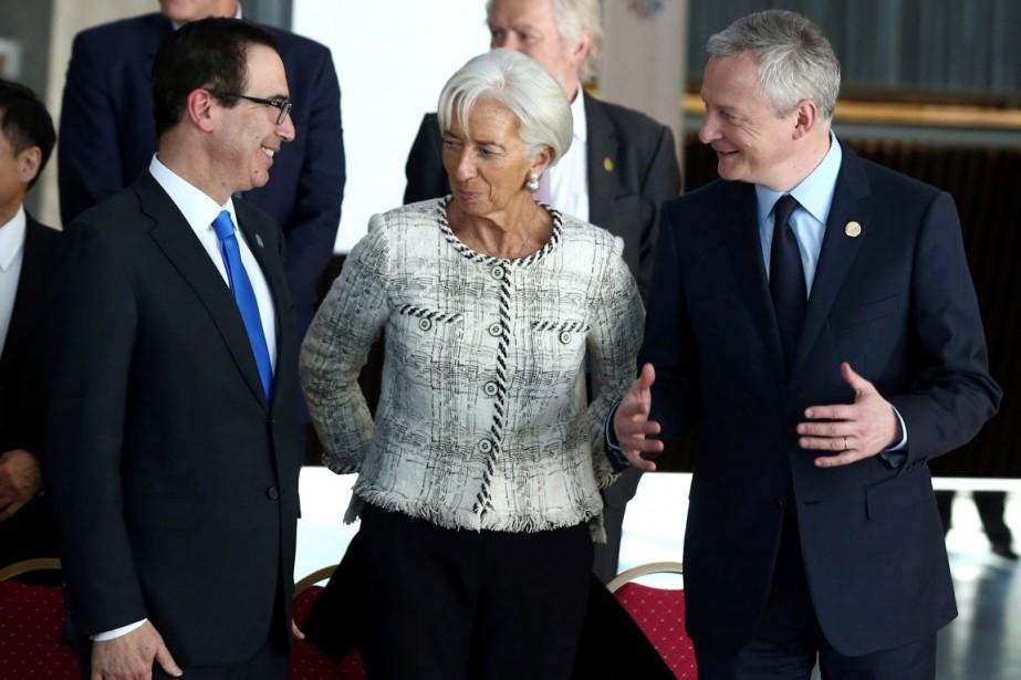 Les ministres des Finances du G20, qui concluent mardi leur réunion de Buenos...