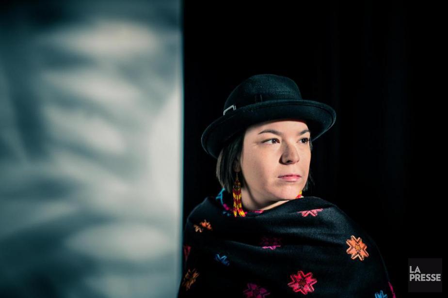 L'artiste Natasha Kanapé Fontaine... (Photo Edouard Plante-Fréchette, Archives La Presse)