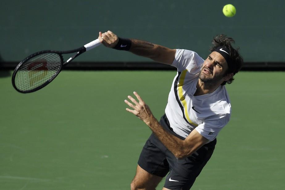Roger Federera potentiellement beaucoup à perdre à Miami.... (Photo Mark J. Terrill, AP)