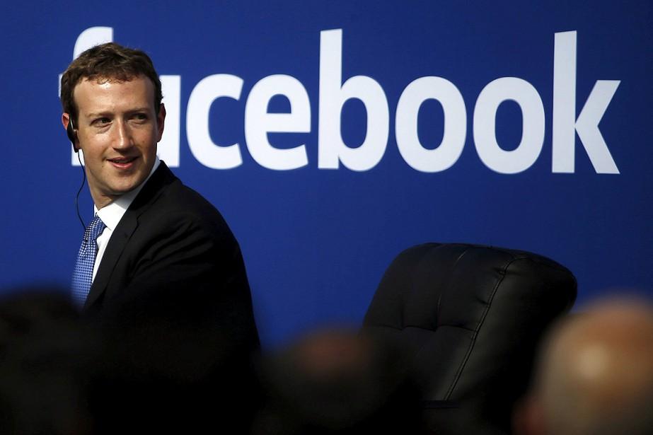 Le patron de Facebook, Mark Zuckerberg.... (Stephen Lam, archives Reuters)