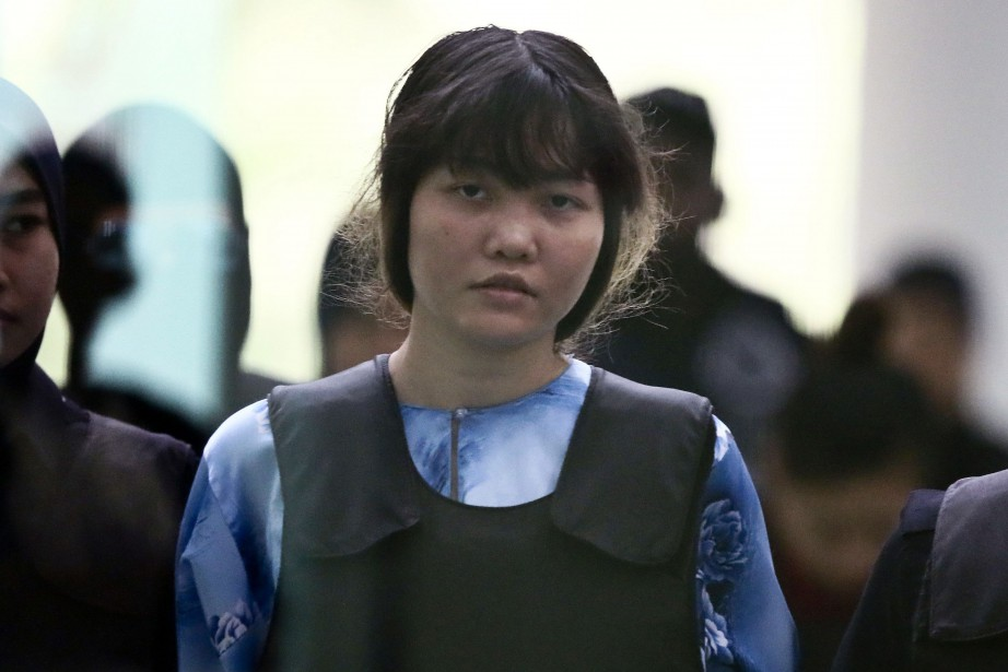Doan Thi Huong (photo), comparaît depuis plus de... (AP)