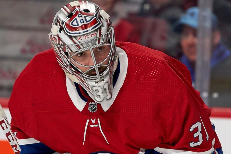 Carey Price est à l'écart du jeu depuis... (Photo André Pichette, La Presse)