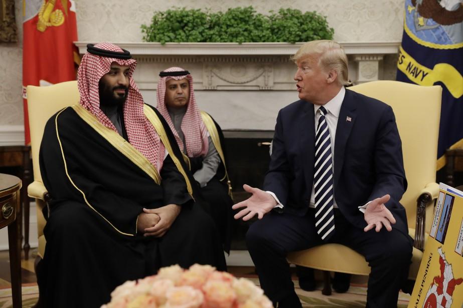 «L'Arabie saoudite est un pays très riche et... (PHOTO Evan Vucci, AP)