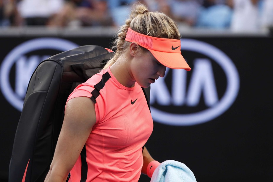 Eugenie Bouchard... (Photo Issei Kato, archives Reuters)