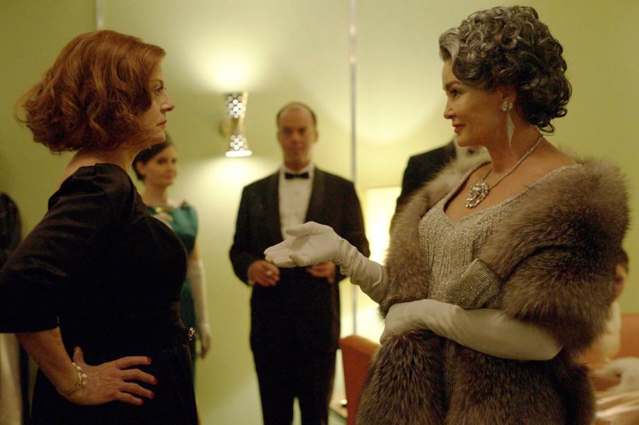 Susan Sarandon incarne Bette Davis et Jessica Lange... (Photo fournie par FX)