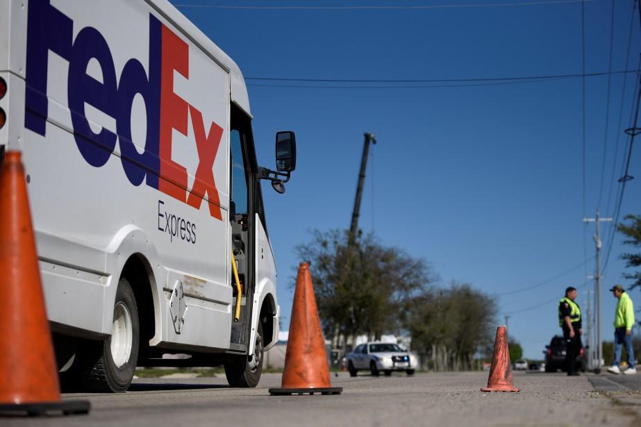 FedEx a précisé dans un communiqué avoir retrouvé... (PHOTO REUTERS)